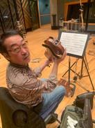 篠崎正嗣氏 on Violin