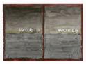 Walter Yu | Word World, mixed media on paper, 15 x 21 cm, 2016