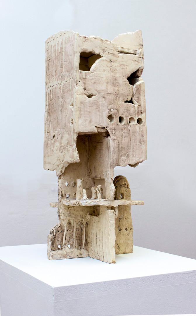 Walter Yu | No.9 ceramic, 50 cm tall, 2014