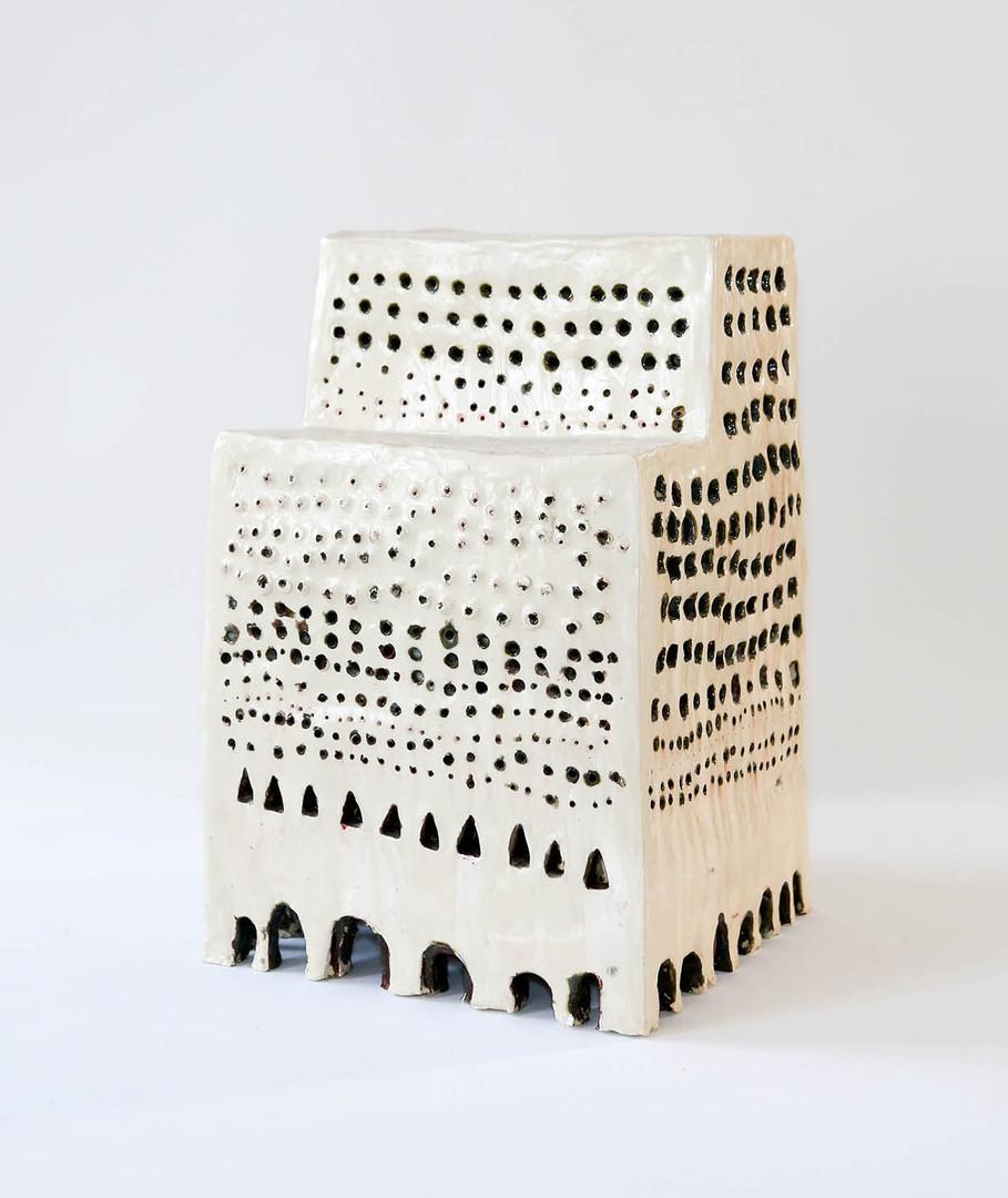 Walter Yu | No.1 ceramic, 50 cm tall, 2014