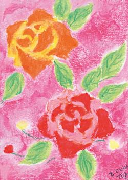 B1002_Twee rozen