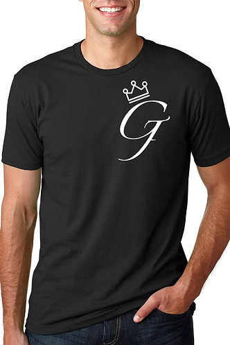 "Men's ""Crown Me G"" Tee (Black)"