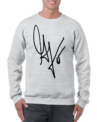 "Unisex ""G's Signature"" Crewneck Sweatshirt (Grey/Black)"