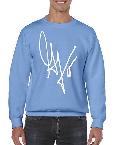 """Unisex """"G's Signature"""" Crewneck Sweatshirt (Carolina/White)"""