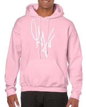 Unisex G's Signature Hoodie (Pink/White)