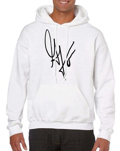 "Unisex ""G's Signature""Hoodie (White/Black)"