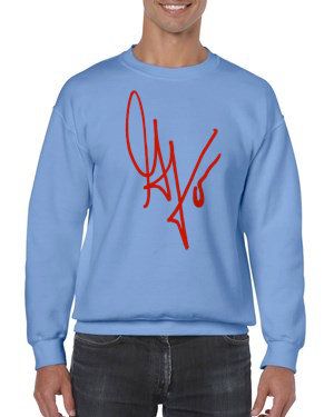 "Unisex ""G's Signature"" Crewneck Sweatshirt (Carolina/Red)"