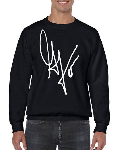 "Unisex ""G's Signature"" Crewneck Sweatshirt (Black/White)"