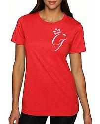 Women's _Crown Me G_ Tee (Red).jpg