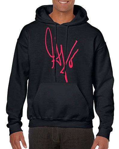"Unisex ""G's Signature""Hoodie (Black/Hot Pink)"
