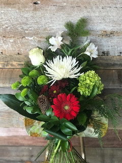 Bouquet des fêtes 45$