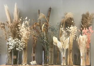 Bar à fleurs séchées - prix variés