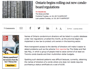 CondoHive weighs in on new condo board regulations in Ontario.