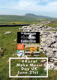 , celebrating Make music day 2018 with The Moonbeam Collective,Ivories and Strings, NYMAZ and Make music day