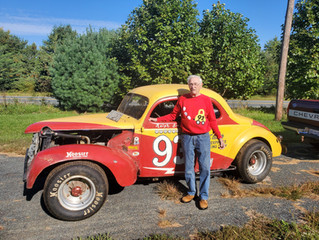 Art Elsner donates historic cars to the Culver Auto Racing Museum