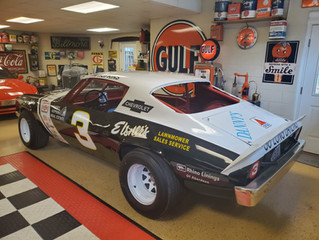 Art Elsner owned Camaro ready to enter the Culver Auto Racing Museum