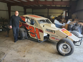Culver Auto Racing Museum Receives Gift from Legendary Modified Driver John Kozak.