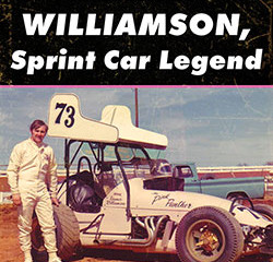 New Book! Kramer Williamson, Sprint Car Legend due out Late Spring 2017