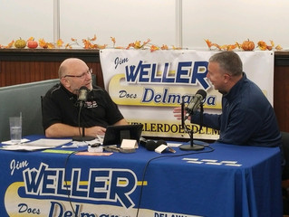 Culver Auto Racing Museum makes stop to talk racing on the radio with Jim Weller.