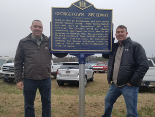 State of Delaware recognizes Georgetown Speedway with Historic Marker