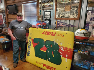 Richie Pratt donates memorabilia from his legendary Modified career!