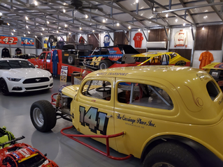Project #141 enters the Culver Auto Racing Museum