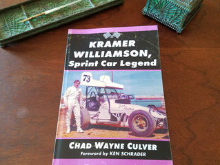 Kramer Williamson, Sprint Car Legend released by McFarland Publishing