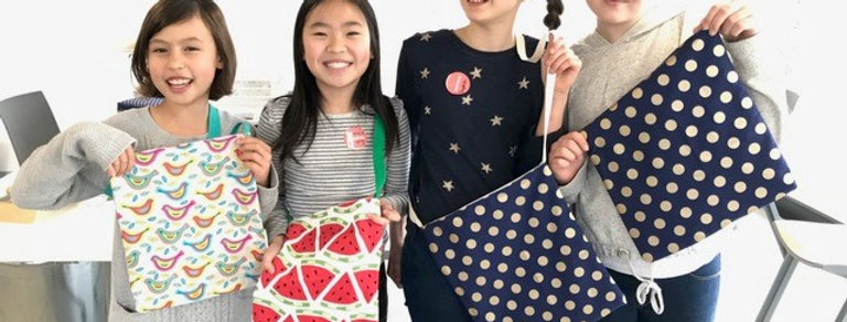 Introduction to Machine Sewing, 8 YRS+ THURSDAYS 4:00pm-6:30pm
