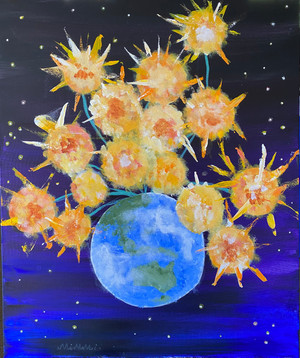 Sunflowers In Space || Mimmi McTaggart