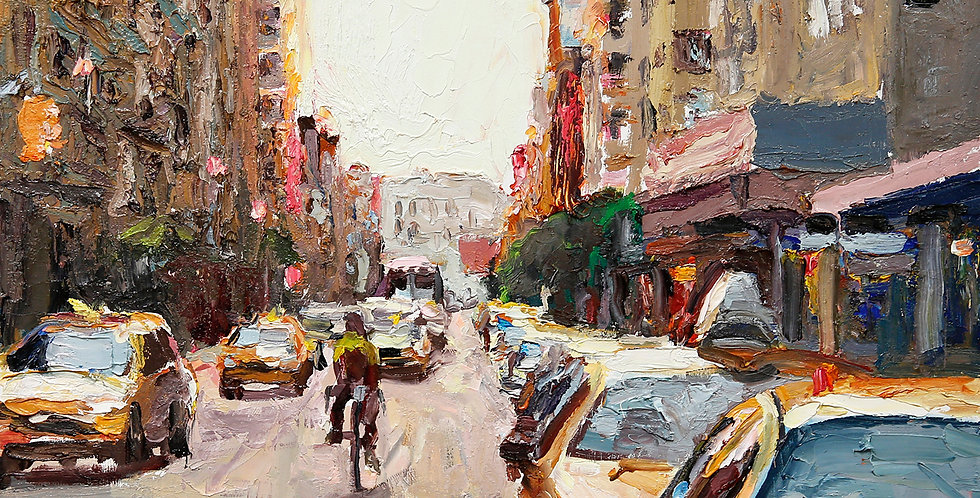 Taking a Structured Approach to Painting, TUESDAYS 6:30pm-9:30pm