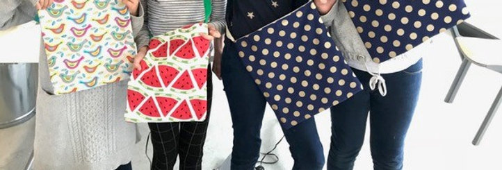 INTRODUCTION TO SEWING- Make a Tote Bag -Wednesday  20th January- 9.30am -4.30pm