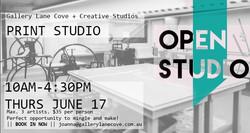 Print Open Studio Day