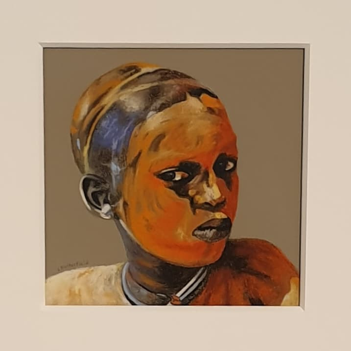 Linda Butterfield || Painted Face $450