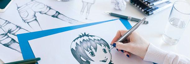 Cartoon & Animation Drawing Saturday 24th July 10 - 11:30am