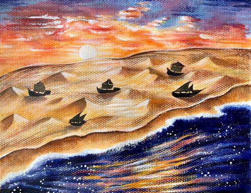Julia Chen || Sailing to Zakynthos