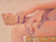 Untitled (2020) acrylic on canvas, 12 x