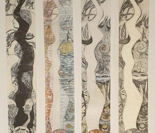 All the River Run, 2018 || Bernhardine Mueller
