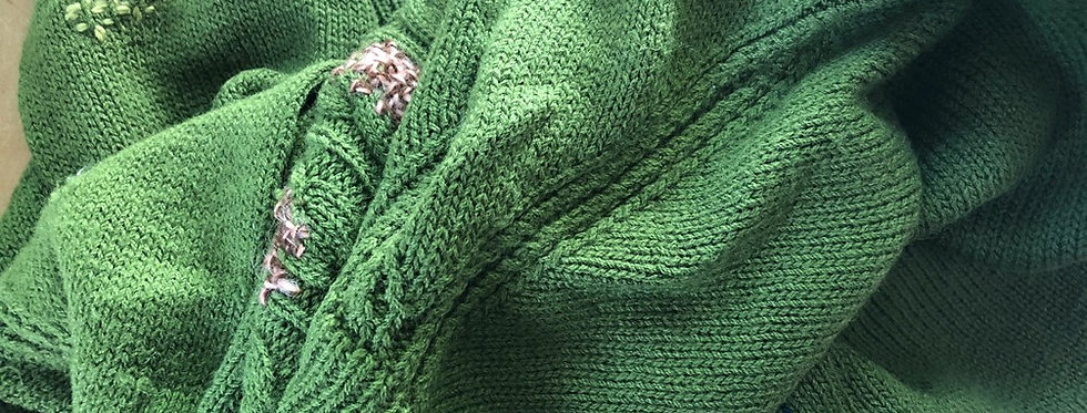 MENDING AND EMBELLISHMENT Sunday 1st August 2 - 3:30pm