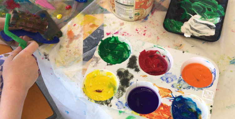 Painting Drawing and Mixed Media 5-7 YRS WEDNESDAYS 3:45pm-5:15pm