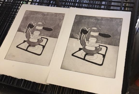 Printmaking for Beginners to Intermediate w/ Susan Baran SAT 1:00 - 4:00pm
