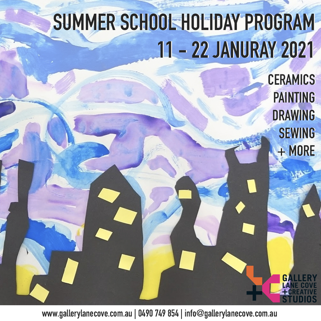 January School Holiday Program // 11 - 22 JANUARY 2021