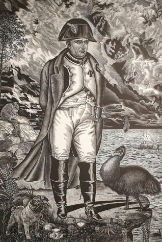 Napolean in Exile, 2019 || Rew Hanks