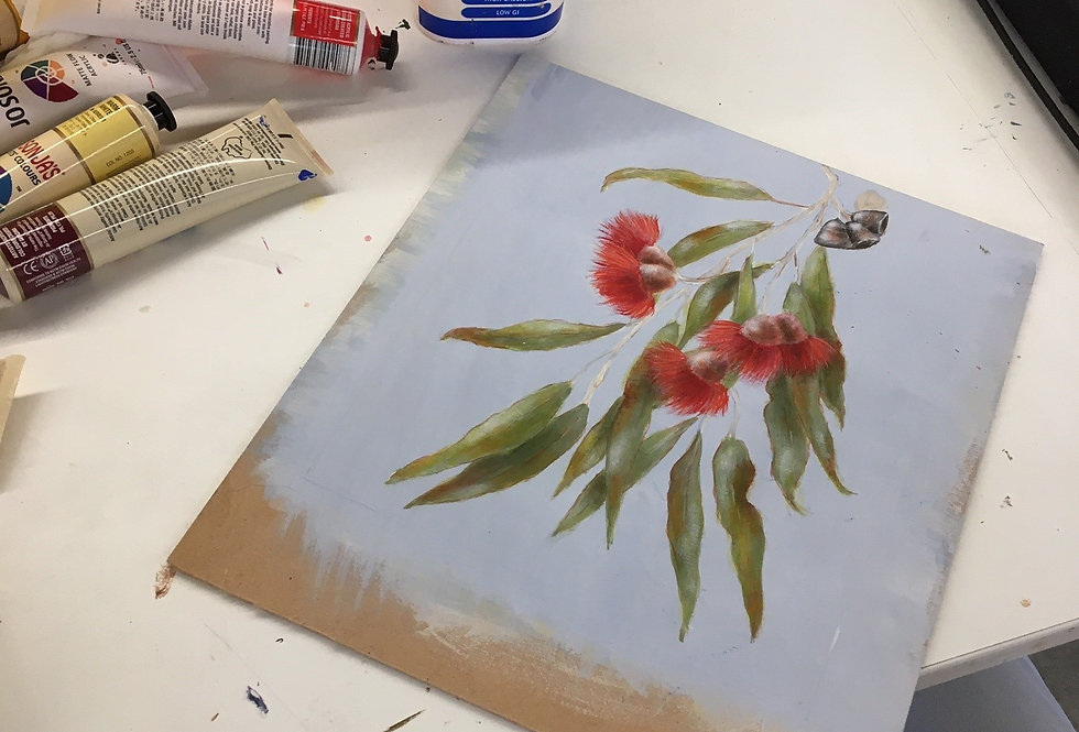 Painting and Drawing with David Pavich, WEDNESDAYS 9:30am-12:30pm