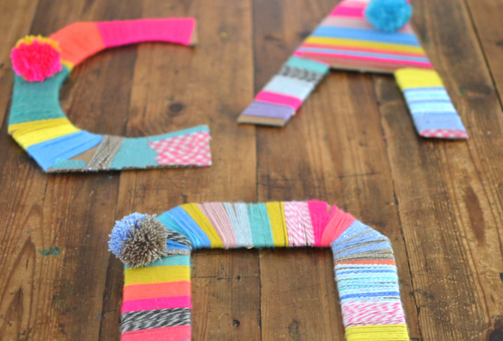 TEXTILE WORD ART  -Friday 15th January 1.30-4.30pm
