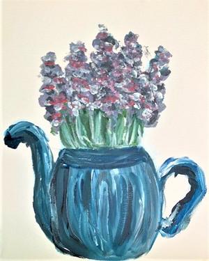 Lavender tea || Bella Sanderson