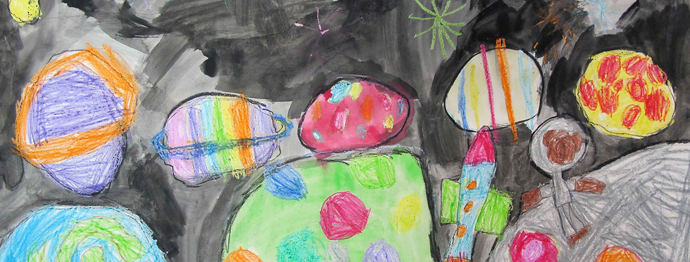 ONLINE Painting, Drawing and Collage: Mixed Media 5-12yrs Thursdays 3.30-5:00pm