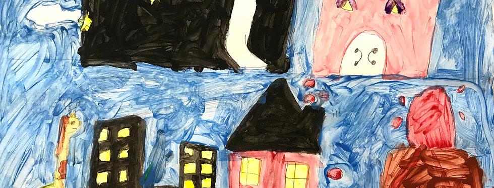 Making Art with Art History MON Kids Art 5-10 Class 3:30 - 5pm