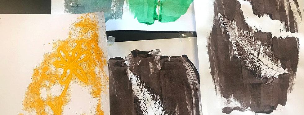 NATURE ART -Monday 11th January 1.30-4.30PM