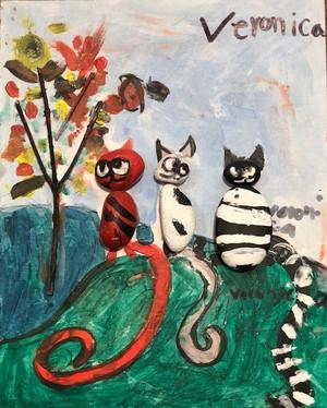 Three Little Cats || Veronica  Feng
