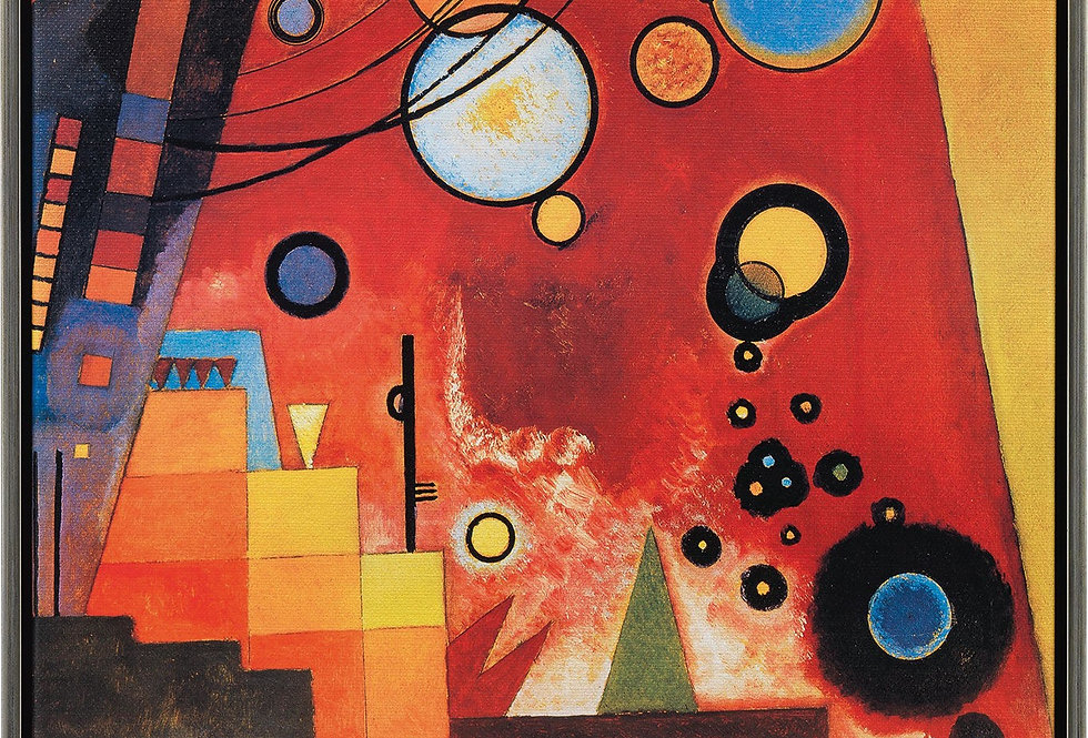 KANDINSKY STYLE PAINTING + COLLAGE - Monday 18th January 1.30-4.30pm